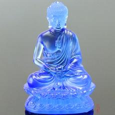 琉璃药师佛摆件阿弥陀佛菩萨如来佛像释迦牟尼佛祖汽车车载小佛像