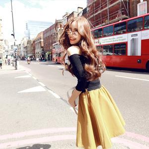 秋季新款2016韩版圆领修身长袖针织衫女套头毛衣厚打底衫露肩上衣女装定制