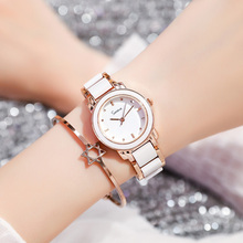 Watch girl student Korean version simple leisure atmosphere fashion trend lady Bracelet Watch Lady waterproof quartz Lady Watch