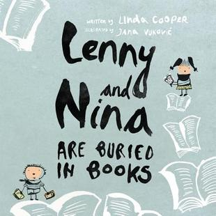 【预售】Lenny and Nina Are Buried in Books