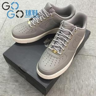 GOGO球鞋 Nike Air Force 1 07 LV8 WB 灰白 板鞋 882095-002