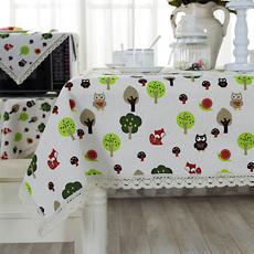 包邮 棉麻布艺餐桌布台布 圆形长方形正方形桌盖布茶几布大小桌布