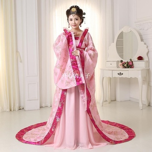 High Quality Chinese Folk CostumeTang Empress Wu Zetian Perf