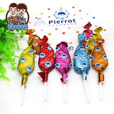 【李雷与韩梅梅】法国进口Pierrot星巴克同款多口味果汁棒棒糖