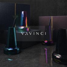 饰品样板间 VAVINCI.进口植物精油玻璃电镀香薰蜡烛桌面摆件家居装