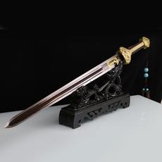 纯铜辟邪镇宅剑手工宝剑长剑玄武剑未开刃装饰客厅摆件青铜剑收藏
