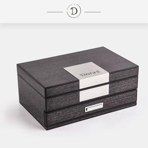 钢琴漆实木首饰盒欧式公主饰品盒多功能木质首饰收纳盒多层珠宝盒首饰盒