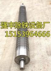 输送带除铁器磁滚筒吸铁器磁选机自卸式除铁器皮带机磁棍100X650