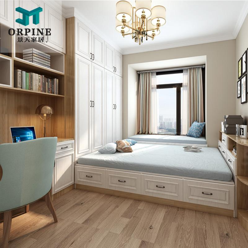卧室 书房|卧室书房隔断效果图|卧室书房一体效果图