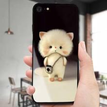 苹果8plus手机壳玻璃7/8/6/6s/plus保护套iPhone卡通可爱xs全包iphonexr防摔7P硬x女款七max潮iphonex硅胶xr