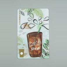 星巴克 星享卡 收藏卡 含券卡 普通卡 金卡 2016年 冷萃咖啡 空卡