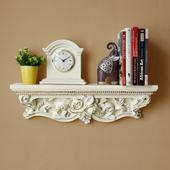 饰书支架壁挂墙 住宅家具创意欧式一字搁板 隔板置物层花架墙上装