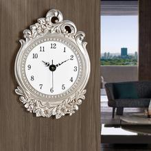 艺术壁钟 家居钟饰欧式挂钟3D立体超静音钟表客厅卧室餐厅时钟时尚