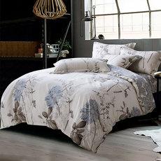 【天猫超市】迎馨家纺 全棉单人床上三件套纯棉床单被套床品套件