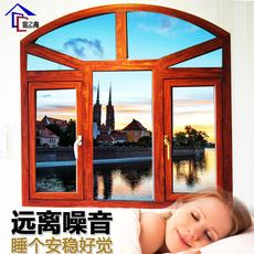 嘉兴断桥铝门窗 封阳台平开窗户铝合金门窗双层玻璃隔音窗户定制