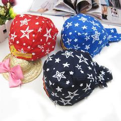 皇冠 春季韩版M0280儿童宝宝帽子婴儿帽子棉布帽幼儿帽子海盗帽