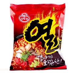 韩国超级爆辣 不倒翁火热拉面