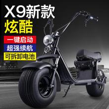 骏杰宽胎普哈雷电动车halei电瓶车踏板可取电池充电动的滑板车