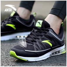 安踏男鞋跑步鞋2017夏季透气运动鞋气垫鞋官方旗舰店官网休闲网鞋