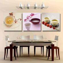 添致家居客厅装饰画三联画现代简约饭厅墙画无框画壁画 餐厅 挂画