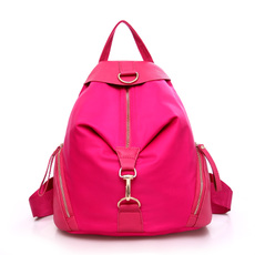 2015夏季新款高级尼龙双肩背包学生包淑女牛津纺户外运动包旅行包