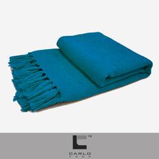 卡洛家纺简约现代百搭搭巾样板房搭毯床毯沙发装饰毯羊毛针织搭毯