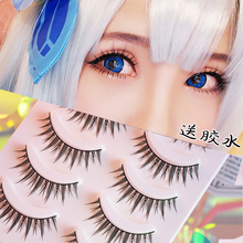 Export to Japan COS false eyelashes Little Devil Meng Mei Barbie Natural Dense Japanese Lolita upper eyelashes