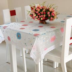 多买优惠 包邮 欧盟标准 塑料防滑桌布 餐布 pvc透明台布方圆桌布