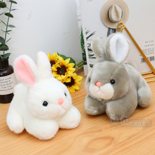 Chao Meng Simulated Rabbit Plush Toy Little White Rabbit Doll Lovely Rabbit Rabbit Doll Korean Girl's Birthday Gift