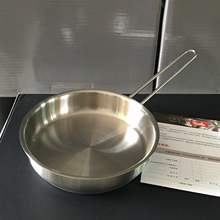German original import of 18/10 stainless steel for 16 cm frying pan of Fissler mini-frying pan