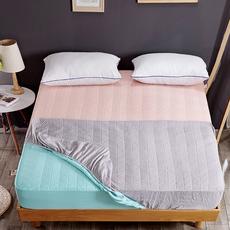 夹棉床笠单件1.5m /1.8m米床垫套席梦思保护套防尘罩床套床罩纯棉