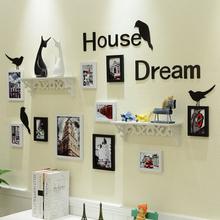 饰品 北欧创意家居装 ins客厅沙发背景墙餐厅奶茶店照片墙壁饰挂件