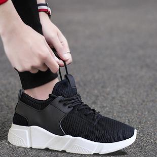 冬季男士运动保暖加绒男鞋秋季布鞋休闲皮鞋跑步潮鞋韩版潮流棉鞋