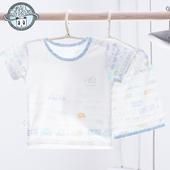 小素材儿童T恤半袖短裤套装男女竹纤维宝宝短袖薄款幼儿夏装1-3岁