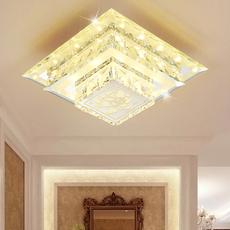 过道灯LED水晶玻璃走道灯 玄关灯 入户进门厅灯 阳台灯楼梯走廊灯