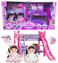 Xuanli Voice Doll Zhini Baby Yelier Warm Double Bed Girls Toy Gifts for Children
