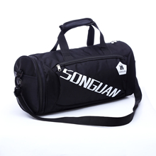 Customized Men and Women Fitness Training Bag Dry and Wet Separation Hand-held Slant Shoulder Yoga Bag Out Sports Package LOGO