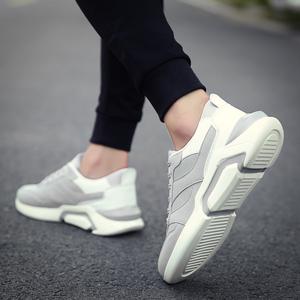 春季新款男鞋跑步运动鞋韩版潮流板鞋休闲鞋子男潮鞋社会精神小伙男鞋