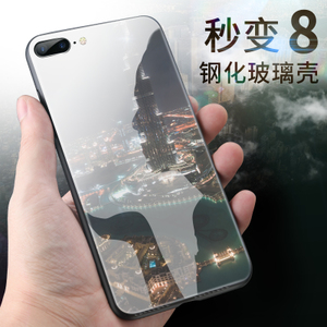 苹果7plus手机壳7p新款iphone7潮牌8plus男女款8p硅胶玻璃八6s七6苹果手机壳