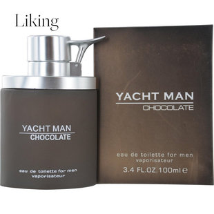 myrurgia 美如致雅 Yacht Man Chocolate 男士淡香水EDT 100ml