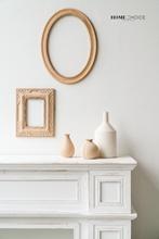 润家家居复古木屑框木质雕花相框画框DIY粗胚装 饰画框架壁挂装