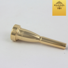 High-grade Handel Trumpet Mouthpiece performance 3C5C7C American accentuated gold plated trumpet instrument accessories new promotion