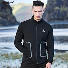 七匹狼男士立领夹克2017秋季新品青年户外防风茄克衫男装运动外套