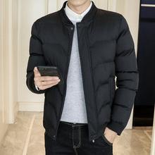 棉衣男士外套冬季新款潮流韩版衣服短款帅气青年男装羽绒棉服棉袄