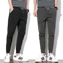 青少年12-13-14-15-16-18岁夏季男装男孩九分裤子初中学生休闲裤