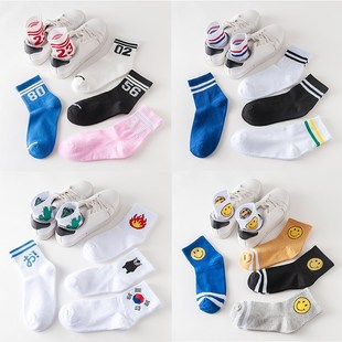 Socks female in han edition agitation college students
