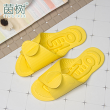 Travel slippers portable folding ultra-light women simple bath skid-proof outer wear massage slippers ultra-thin travel shoes for men