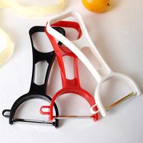 日本进口水果削皮刀 刮皮器蔬菜刨刀去土豆皮刀不锈钢苹果削皮器
