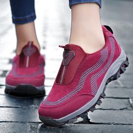 防滑软底妈妈鞋中老年休闲运动鞋
