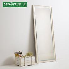全身镜落地镜立体镜子卧室家用镜子壁挂定制 简约穿衣镜子试衣镜